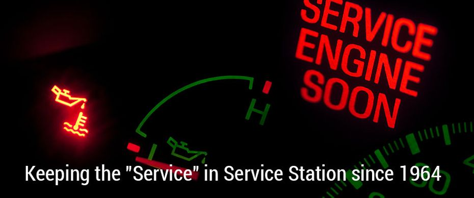 "Service Engine Soon | Keeping the ""Service"" in Service Station since 1964"